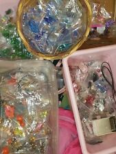 HUGE! beads jewelry making supplies lot tools clasps findings chain AB Swarovski