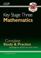 New KS3 Maths Complete Study & Practice (with Online Edition) by CGP Books (Pape