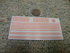 Herald King decals HO New York City Transit Authority stripes numbers  XX159