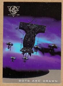 "Babylon 5 (Season 5) ""Thirdspace"" Chase T4 Card"