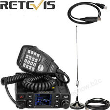 Mobile Car Radio Transceiver Retevis RT95 UHF/VHF 200CH+ Antenna+ Free USB Cable