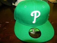 NEW ERA 5950 PHILADELPHIA PHILLIES KELLY GREEN WHITE CAP MLB BASEBALL  SHARP QTY