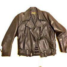 Police Motorcycle Leather Jacket