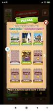 Coin Master Cards new set Palace Set all white cards ( Total 4 cards)