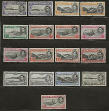 ASCENSION  SELECTION OF 1938/53 GVI ISSUES   FINE MOUNTED MINT