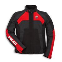 New Dainese Ducati Corse Tex C3 Jacket Men's EU 54 Black/Red #981037754