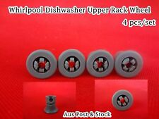Whirlpool Dishwasher Spare Parts Upper Basket Wheel Replacement Grey (D27) New