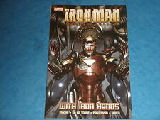 Marvel: IRON MAN, DIRECTOR OF SHIELD 'WITH IRON HANDS'  PB Graphic Novel Stark