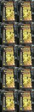 Lot of 10 Pokemon Generations Sealed Booster Packs ( Pikachu Cover Art Artwork)