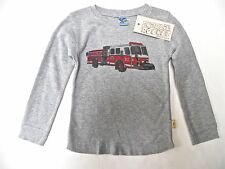 Charlie Rocket Boutique Brand Boys Top Size 9-12 mo~Firetruck~New Tag