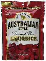 Wiley Wallaby Australian Style Licorice Candy (10 Ounces, Pack Of 10)