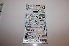 DECALS 1/43 BMW FIORIO ITALIA NISSAN SUNNY HIGGINS RALLYE WRC MANX RALLY