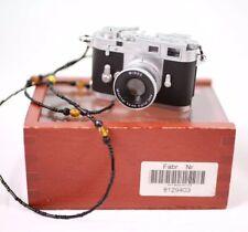 RARE Leica M3 2.1mp Digital Subminiature Camera Minox Display Case WORKS