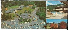 JC-071 Mountain View Hotel, Gatlinburg, TN 1960's-70's Chrome Postcard