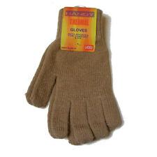 Gants d'hiver marron taille unique pour femme