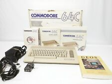 Commodore 64C Personal Computer Mint In Box Complete + GEOS Software #2