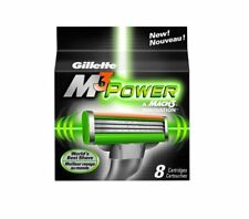 GILLETTE MACH 3 POWER BLADES PACK OF 8 (FREE UK DELIVERY)