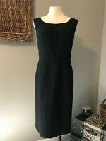Kasper Separates Black Essential Polyester Sheath Dress 16