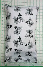 Mickey Mouse in Steamboat Willie -  Small Pillow Case & Travel / Toddler Pillow