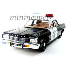 AUTOWORLD AWSS112 1975 DODGE MONACO HIGHWAY PATROL POLICE CAR PURSUIT CHiPS 1/18