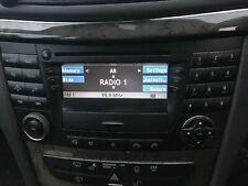 Mercedes W211 E-Class (2004) Command Unit Nav CD & Cassette Player A2118273842