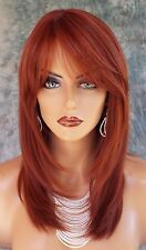 LARGE CAP LONG  WIG HEAT SAFE SKIN TOP✯ COLOR 130  STRAIGHT CLASSY STYLE 1066