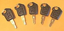 (5) Caterpillar - CAT Heavy Equipment Keys 5P8500 New Style Logo - Ships Free!
