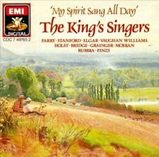 My Spirit Sang All Day by King's Singers (CD, May-1988, Angel Records)