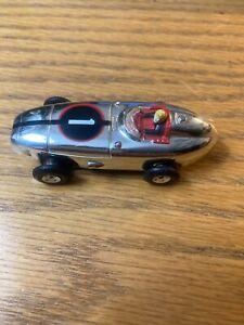 Aurora vintage chrome Indy Racer case/label Thunderjet HO Slot Car Pre-1970