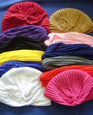 Chapeaux turbans polyester pour femme
