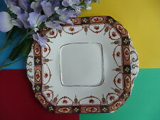 "Art Deco / Vintage Royal Albion China ""Sandon"" Bone China Tea Set Cake Plate"