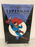 Superman The Action Comics Archives Vol 4 DC Comics Hard Cover Brand New Sealed