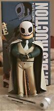 """Muttpop Lucha Libre Dr. Destruction 8"""" Vinyl Figure NIB"""