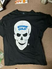 Vintage WWF Stone Cold Steve Austin T Shirt Sz XXL Wrestling 1990s Smokin Skull