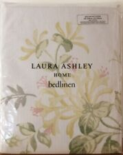 Laura Ashley Honeysuckle Trail KING Size Duvet Cover in Camomile / Yellow - NEW