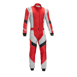 FIA Racing Suit SPARCO X-LIGHT RS-7 RS7 Rally Race Sport Overall Red STOCK 21
