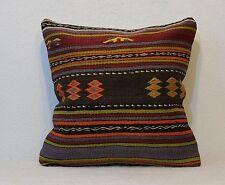 18 x 18 Pillow Cover kilim pillow throw pillow cover cushion cover kissen 45x45