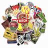 50 Retrosticker Stickerbomb bitch Graffiti Aufkleber Sticker Mix Decals Emblem