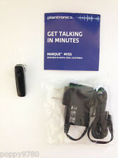 New Plantronics Marque M155 Bluetooth Stereo Wireless Headset Stream Music-Black