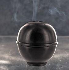 KUMO bâton de l'Encens et porte-Cône en Pierre noire par les Incense du monde