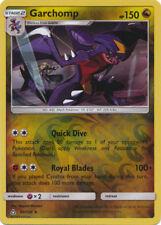 4x Garchomp - 99/156 - Rare - Reverse Holo NM-Mint Pokemon SM6 - Ultra Prism