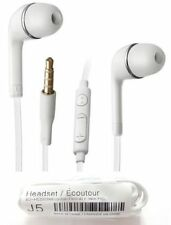 3.5MM Stereo Headset Earphones fits Samsung Galaxy S7 S6 S5 S4 S3 Note 2 3 4 5