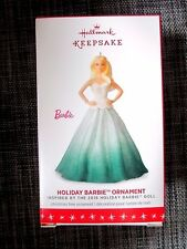 2016 Hallmark Holiday Barbie Ornament FREE SHIPPING