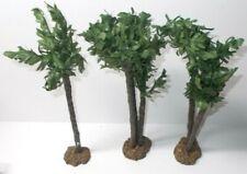 "Fontanini Roman 5"" Nativities Palm Tree Set of 3 in Box 51108"
