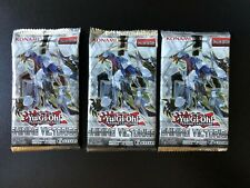 Yu Gi Oh! Shining Victories Booster Pack lot of 3 unweighed unscaled unlimited