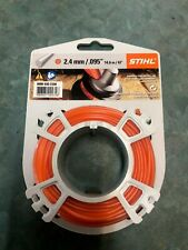 Genuine STIHL 2.4mm Round Trimmer Line 14.6m 00009302338 Strimmer