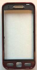 Samsung S5230 LeFleur A-Cover Rand Vordergehäuse dunkelrot schwarz