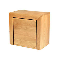 Cuba Oak Cube Nest Of Tables Living Room Wood Furniture