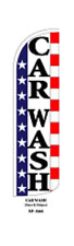 Car Wash USA Windless Swooper Flag  Sign