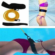 1 Pc Adjustable Swim Training Resistance Belt Adult Kids Swimming Bungee Exercis